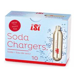 ISI - 0004 - Carbon Dioxide Soda Chargers - 10 Pack image