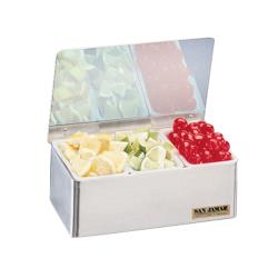 San Jamar - B4093L - 3 pt Non-Chilled Garnish Tray image