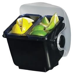 San Jamar - BD2003 - Mini Dome® 2 pt Garnish Center Insert image