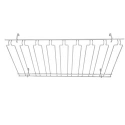 Winco - GHC-1836 - 18 in x 36 in Chrome Glass Rack image