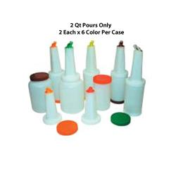 Winco - PPB-2MX - 2 qt Multi-Pour Set image
