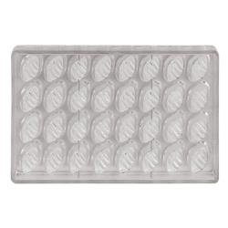 World Cuisine - 47860-06 - (32) Polycarb  Boat Chocolate Mold image