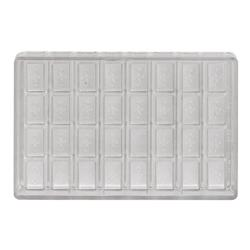 World Cuisine - 47860-08 - (32) Polycarb Rectangular Chocolate Mold image