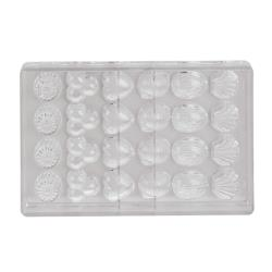 World Cuisine - 47860-09 - (24) Assorted Polycarb Chocolate Mold image