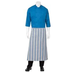 Chef Works - F24-BGW - Striped Bistro Apron image