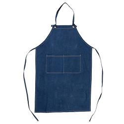 KNG - 2942DBL - 2 Pocket Denim Bib Apron image