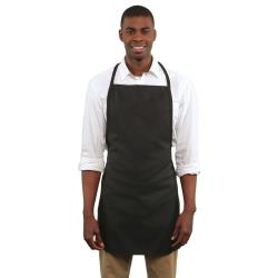 RDW - A9005B - Black No Pocket Bib Apron image