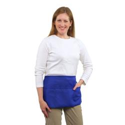 RDW - B9003RB - 3 Pocket Royal Blue Waist Apron image
