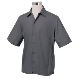 Chef Works - CSMV-GRY-M - Cool Vent Gray Shirt (M) image