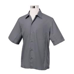 Chef Works - CSMV-GRY-S - Cool Vent Gray Shirt (S) image