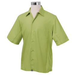 Chef Works - CSMV-LIM-XXL - Cool Vent Lime Shirt (2XL) image