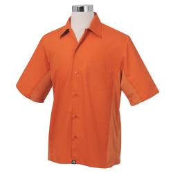 Chef Works - CSMV-ORA-XXL - Cool Vent Orange Shirt (2XL) image