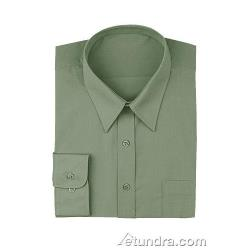 Chef Works - D100-OLI-M - Olive Dress Shirt (M) image