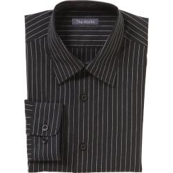 Chef Works - D300-CDA-L - Onyx Dress Shirt (L) image