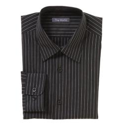 Chef Works - D300-CDA-S - Onyx Dress Shirt (S) image