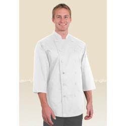 Chef Works - S100-WHT-S - White Chef Shirt (S) image