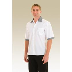 Chef Works - SCCS-S - Checked Cook Shirt (S) image