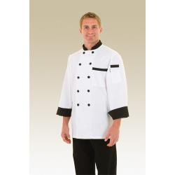 Chef Works - BBTR-2XL - Dijon Chef Coat (2XL) image