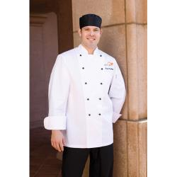 Chef Works - BSPC-3XL - Chaumont Chef Coat (3XL) image