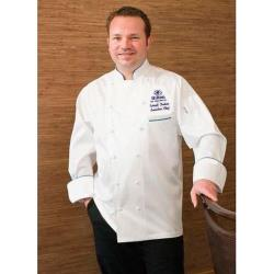 Chef Works - ECCA-4XL-60 - Carlton Chef Coat (4XL) image