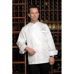 Chef Works - ECCB-XS-34 - Monte Carlo Chef Coat (XS) image