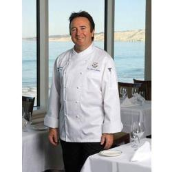 Chef Works - ECCW-S-38 - Milan Chef Coat (S) image