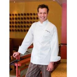 Chef Works - ECHR-2XL-52 - Madrid Chef Coat (2XL) image