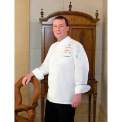 Chef Works - ECRI-4XL-60 - Bali Chef Coat (4XL) image