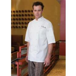Chef Works - ECSS-2XL-52 - Capri Chef Coat (2XL) image