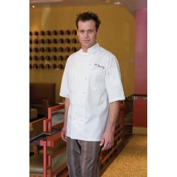Chef Works - ECSS-XL-50 - Capri Chef Coat (XL) image