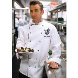 Chef Works - MICC-L - Newport Check Coat(L) image