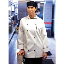 Chef Works - WICC-M - Women's Lausanne Chef Coat (M) image
