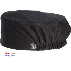 Chef Works - DFAO-BLK - Total Vent Black Beanie image
