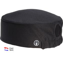 Chef Works - DFAOW-BLK - Women's Total Vent Black Beanie image