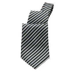 Chef Works - T0000-SDI - Silver Diagonal Stripe Tie image
