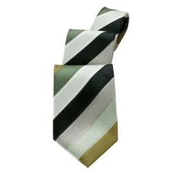 Chef Works - TP6S-GBE - Olive Six Stripe Tie image