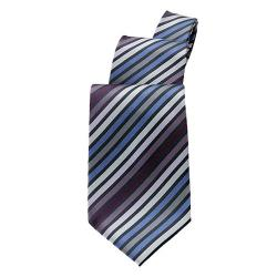 Chef Works - TPMS-BPU - Blue/Purple Stripe Tie image