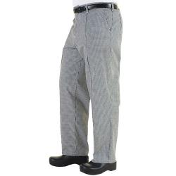Chef Works - BWCP-S - Checked Chef Pants (S) image