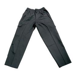 Chef Works - CPBL-XL - Black J54 Cargo Pants (XL) image