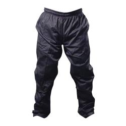 Chef Works - NBBP-L - Black Baggy Chef Pants (L) image