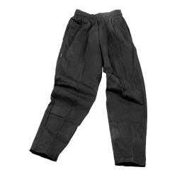 Chef Works - NBBP-M - Black Baggy Chef Pants (M) image