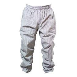 Chef Works - NBCP-M - Checked Baggy Chef Pants (M) image