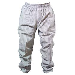 Chef Works - NBCP-XL - Checked Baggy Chef Pants (XL) image