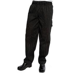 Chef Works - PINB-M - Pinstripe Designer Chef Pants (M) image