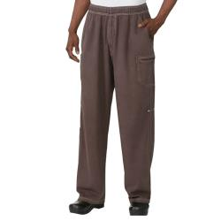 Chef Works - UPEW-CHO-3XL - Chocolate Brown Enzyme Utility Pants (3XL) image