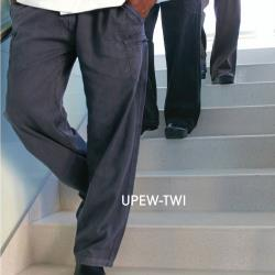 Chef Works - UPEW-TWI-XL - Twilight Blue Enzyme Utility Pants (XL) image