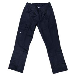 Chef Works - CPWO-BLK-L - Women's Black Cargo Chef Pants (L) image