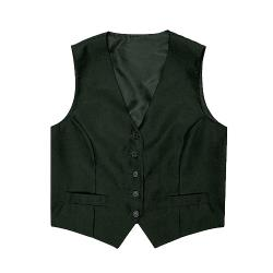 Chef Works - VPWO-BLK-L - Women's Black Vest (L) image