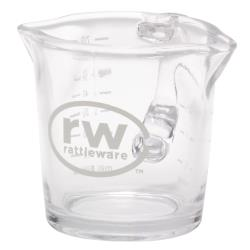 Rattleware - 27610 - 3 oz  Glass Spouted Pitcher image