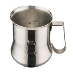 Winco - WPE-24 - 24 oz Stainless Steel Frothing Pitcher image